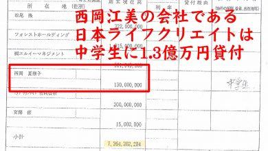 シロガネーゼ「西岡江美」は30億円不動産収奪の一味
