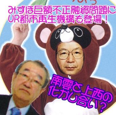 Photo of URの狸こと上西郁夫が二重スパイ南雲慶一と共謀?みずほ巨額不正融資の闇